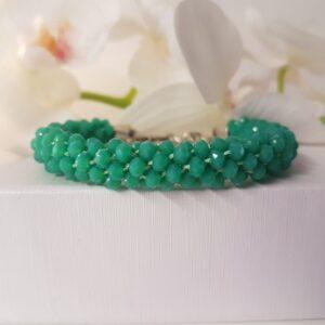 Kumi Design Armband Turquoise