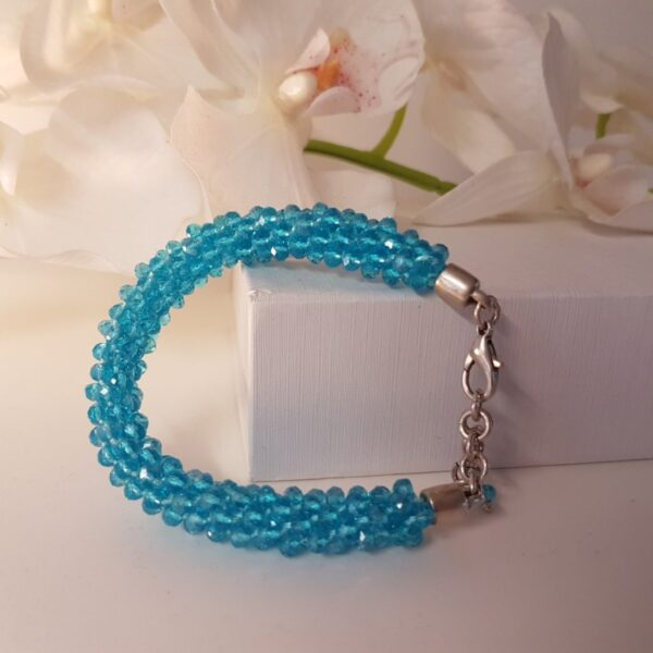 Kumi Design Armband lichtblauw