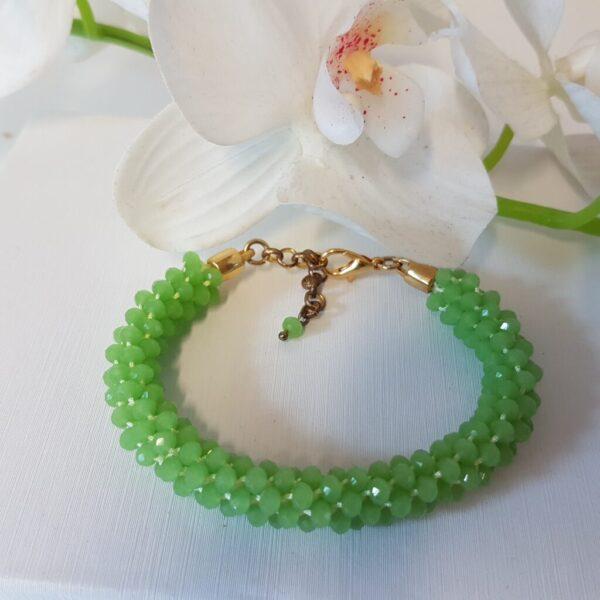 Kumi Design Armband lichtgroen