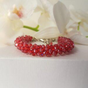Kumi Design Armband rood