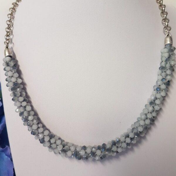 Kumi Design Ketting grijs zilver