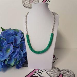 Kumi Design Ketting turquoise zilver