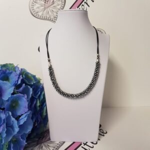 Kumi Design Ketting zilver metallic